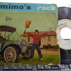 Discos de vinilo: MIMO'S ROCK EP 1960 MIMO AND HER FIVE FRIENDS 1960 ESCUCHADO. Lote 278820513