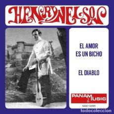 Discos de vinilo: SINGLE HENRY NELSON - EL AMOR ES UN BICHO / VINILO / 2ª ED. LTD MADMUA RECORDS 2021 / NUEVO. Lote 278826938