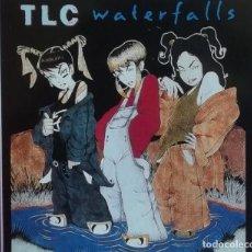 Discos de vinilo: TLC * WATERFALLS * MAXI VINILO * 1995 SPAIN * PRECINTADO!!! * ULTRARARE. Lote 278827453