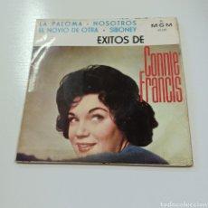 Discos de vinilo: CONNIE FRANCIS - LA PALOMA - NOSOTROS .... Lote 278829418