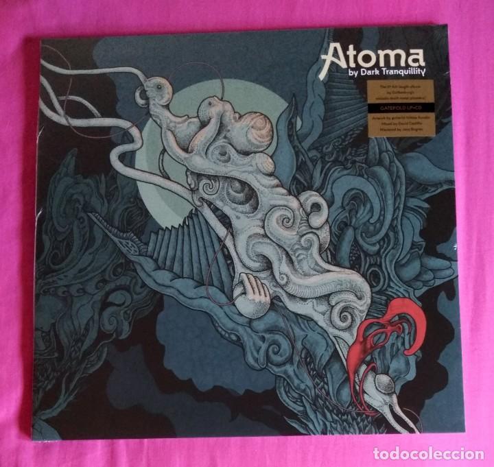 DARK TRANQUILLITY - ATOMA 12'' LP + CD GATEFOLD NUEVO Y PRECINTADO - DEATH METAL (Música - Discos - LP Vinilo - Heavy - Metal)