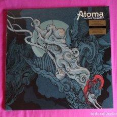Discos de vinilo: DARK TRANQUILLITY - ATOMA 12'' LP + CD GATEFOLD NUEVO Y PRECINTADO - DEATH METAL. Lote 278847623