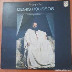 Discos de vinilo: LOTE 2 VINILOS (D. ROUSSOS, CH. AZNAVOUR). Lote 278867578