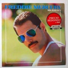 Discos de vinilo: FREDDIE MERCURY- MR. BAD GUY LP - SPAIN LP 1987- QUEEN- COMO NUEVO.. Lote 278873403
