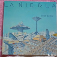 Discos de vinilo: LA NIEBLA,CIUDAD PARALELA ALBUN DEL 89. Lote 278878183