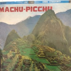 Discos de vinil: VINILO MACHU PICCHU. Lote 278880828
