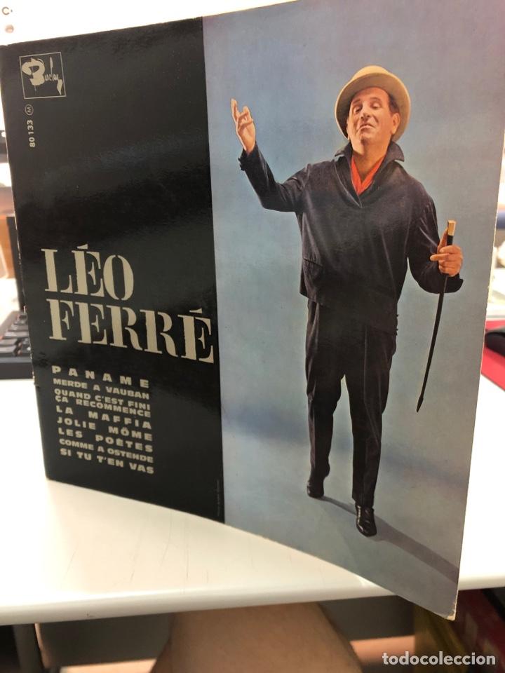 VINILO - LEO FERRÉ - PANAME (Música - Discos - LP Vinilo - Cantautores Internacionales)