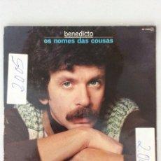Discos de vinilo: BENEDICTO. OS NOMES DAS COUSAS. Lote 278886708