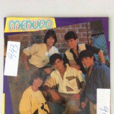 Discos de vinilo: MENUDO. HOLD ME. Lote 278887038