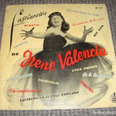 Discos de vinilo: IRENE VALENCIA LP FASCINACION BOLEROS ORIGINAL ESPAÑA 1958. Lote 278887298