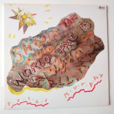 Discos de vinilo: PETER MURPHY- SHOULD THE WORLD FAIL TO FALL- UK LP 1988- BAUHAUS- EN BUEN ESTADO.. Lote 278903123