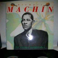 Discos de vinilo: SIEMPRE MACHÍN 24 EXITOS ORIGINALES EN 2 VINYL LP. Lote 278918383