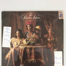 Discos de vinilo: THE POINTER SISTER. YES WE CAN CAN.. Lote 278918418