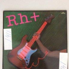 Discos de vinilo: RH.+ TRANSPARENTE MANIQUÍ. Lote 278918688