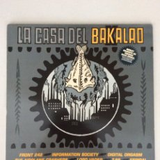 Discos de vinilo: LA CASA DEL BAKALAO. Lote 278919423