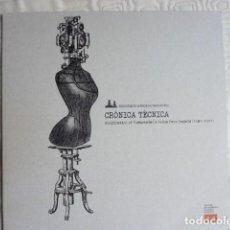 Discos de vinilo: CRONICA TÉCNICA (VV A: ORFEÓN GAGARIN, FUNERAL SOUVENIR, LUIS MESA, ETC) DOBLE LP. Lote 278921243