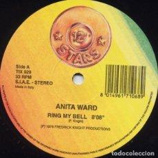 Discos de vinilo: ANITA WARD / B.T. EXPRESS – RING MY BELL / DO IT ('TIL YOU'RE SATISFIED). Lote 278921678