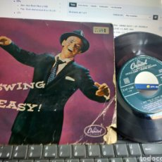 Discos de vinilo: FRAN SINATRA EP SWING EASY! PART 1 JUST ONE OF THOSE THINGS + 3 U.S.A.. Lote 278926933