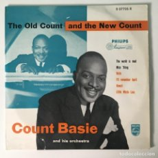 Discos de vinilo: COUNT BASIE AND HIS ORCHESTRA* – THE OLD COUNT AND THE NEW COUNT, UK 1955 PHILIPS. Lote 278934318