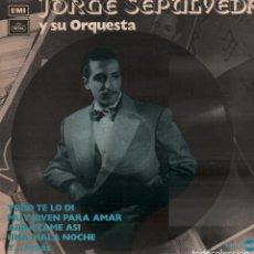 Discos de vinilo: JORGE SEPULVEDA Y SU ORQUESTA - TODO TE LO DI, ABRAZAME ASI.../ LP EMI DE 1971 / BUEN ESTADO RF-9937. Lote 278940458