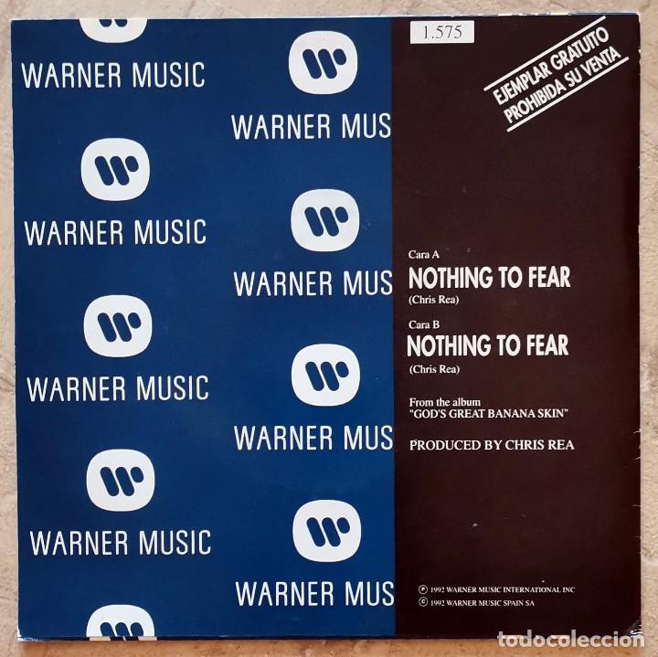 Discos de vinilo: Chris Rea - Nothing To Fear Single - Foto 2 - 278940513