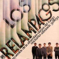 Discos de vinilo: LOS RELAMPAGOS - RECUERDOS DE LA ALHAMBRA, ALBORADA GALLEGA.../ LP CAUDAL1976 RF-9943. Lote 278941088