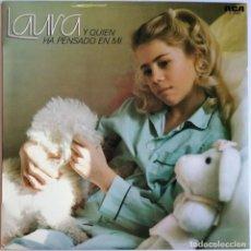 Discos de vinilo: LAURA, Y QUIEN HA PENSADO EN MÍ, RCA, RCA VICTOR PL-35397. Lote 278949233