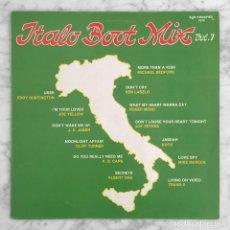 Discos de vinilo: ITALO BOOT MIX VOL. 7 - ZYX RECORDS - 1986. Lote 278950108
