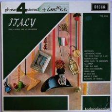 Discos de vinilo: ROGER LAREDO AND HIS ORCHESTRA, ITALY, DECCA PFS 4015. Lote 278952093