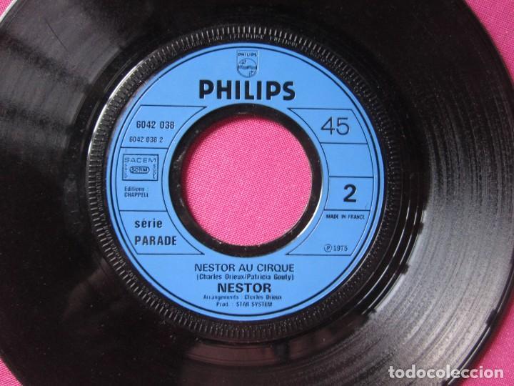 Discos de vinilo: NESTOR A LA PECHE AUX MOULES SINGLE FRANCES RARO - Foto 4 - 278953658
