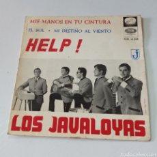 Discos de vinilo: LOS JAVALOYAS - HELP !. Lote 278959498