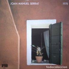 Discos de vinilo: JOAN MANUEL SERRAT – 1978, VINILO, LP.. Lote 278959548