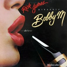 Discos de vinilo: RICK JAMES PRESENTS BOBBY M* – BLOW. Lote 278959648