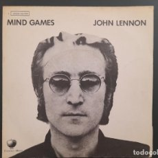 Discos de vinilo: JOHN LENNON MIND GAMES BEATLES SINGLE ESPAÑOL NUEVO A ESTRENAR. Lote 278964278