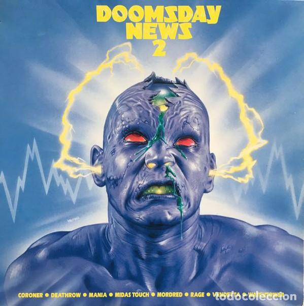 VARIOUS – DOOMSDAY NEWS 2 (Música - Discos - LP Vinilo - Heavy - Metal)