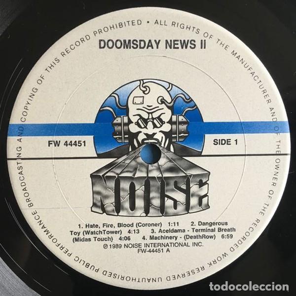 Discos de vinilo: Various – Doomsday News 2 - Foto 3 - 278964353