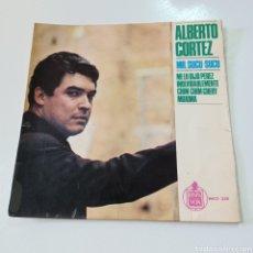 Discos de vinilo: ALBERTO CORTEZ - MR. SUCU SUCU - ME LO DIJO PEREZ 1965 HISPAVOX. Lote 278964378