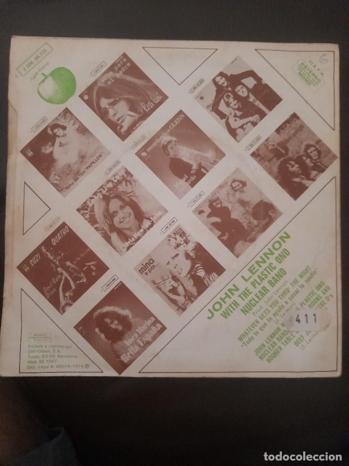 Discos de vinilo: JOHN LENNON WHATVEVER GETS YOU THRU THE NIGHT BEATLES SINGLE ESPAÑOL - Foto 3 - 278964978