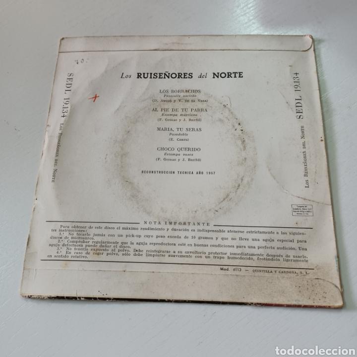 Discos de vinilo: LOS RUISEÑIRES DEL NORTE - LOS BORRACHOS, MARIA TU SERAS ... 1957 REGAL - Foto 2 - 278965483