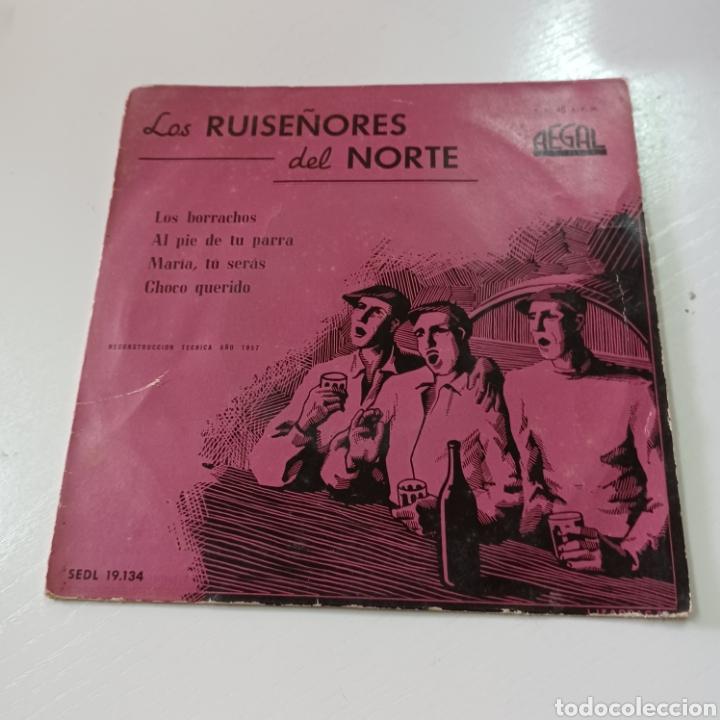 Discos de vinilo: LOS RUISEÑIRES DEL NORTE - LOS BORRACHOS, MARIA TU SERAS ... 1957 REGAL - Foto 5 - 278965483