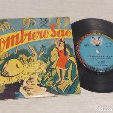 Discos de vinilo: EL TRIO ORIENTAL / SOMBRERO SAO / EP-33 R.P.M. - LYRA-BOLIVIA / HIPER RARO / PEQUEÑAS MARCAS.***/**. Lote 278965498