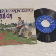 Discos de vinilo: ALEJANDRO ULLOA / CARTA A USTED + 3 / EP - COLUMBIA-1963 / MBC. ***/***. Lote 278965993