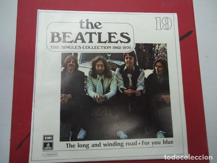THE BEATLES - THE LONG AND WINDING ROAD FOR YOU BLUE EDICIÓN LIMITADA DEL CONJUNTO DE THE BEATES T (Música - Discos - Singles Vinilo - Pop - Rock Internacional de los 50 y 60)