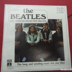 Discos de vinilo: THE BEATLES - THE LONG AND WINDING ROAD FOR YOU BLUE EDICIÓN LIMITADA DEL CONJUNTO DE THE BEATES T. Lote 278966778
