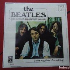 Discos de vinilo: THE BEATLES - COME TOGETHER SOMETHING EDICIÓN LIMITADA DEL CONJUNTO DE THE BEATES THE SINGLES COL. Lote 278967208