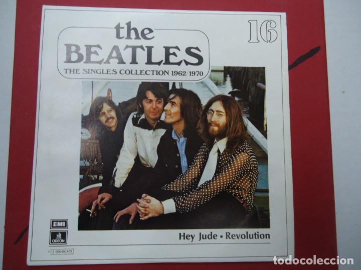 THE BEATLES - HEY JUDE REVOLUTION EDICIÓN LIMITADA DEL CONJUNTO DE THE BEATES THE SINGLES COLLECT (Música - Discos - Singles Vinilo - Pop - Rock Internacional de los 50 y 60)