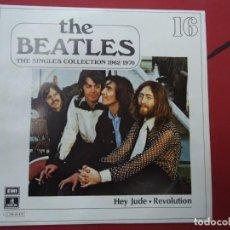 Discos de vinilo: THE BEATLES - HEY JUDE REVOLUTION EDICIÓN LIMITADA DEL CONJUNTO DE THE BEATES THE SINGLES COLLECT. Lote 278967428