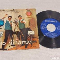 Discos de vinilo: DÚO DINÁMICO / SOMOS JÓVENES / EP- LA VOZ DE SU AMO-1962 / MBC. ***/***. Lote 278967848