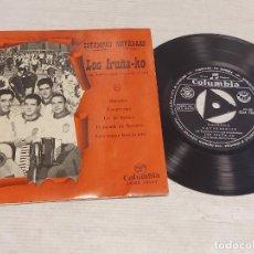 Discos de vinilo: LOS IRUÑA-KO / ESTAMPAS NAVARRAS / EP - COLUMBIA-1962 / MBC. ***/***. Lote 278968268