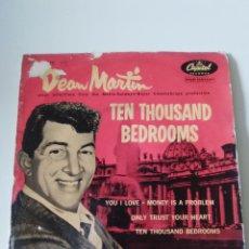 Discos de vinilo: DEAN MARTIN TEN THOUSAND BEDROOMS + 3 ( 1958 CAPITOL ESPAÑA ). Lote 278968583